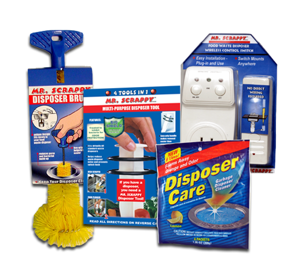 Mr. Scrappy Disposer Accessories